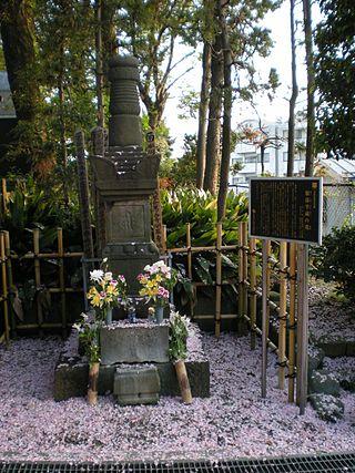 Sepulcher_of_Hattori_Hanzoh_at_Sainen-ji_Temple