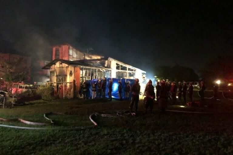 【伊賀市】伊賀市平野西町で火災 焼け跡から遺体も
